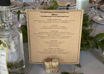 Petneházy Club Hotel esküvői menü